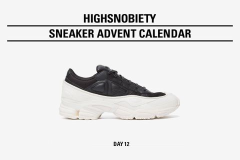highsnobiety advent calendar day twelve Ozweego adidas by raf simons