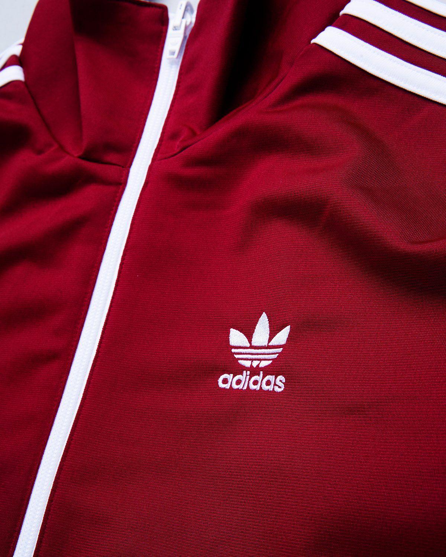 adidas Originals x Human Made — Firebird Track Top Burgundy - Image 6