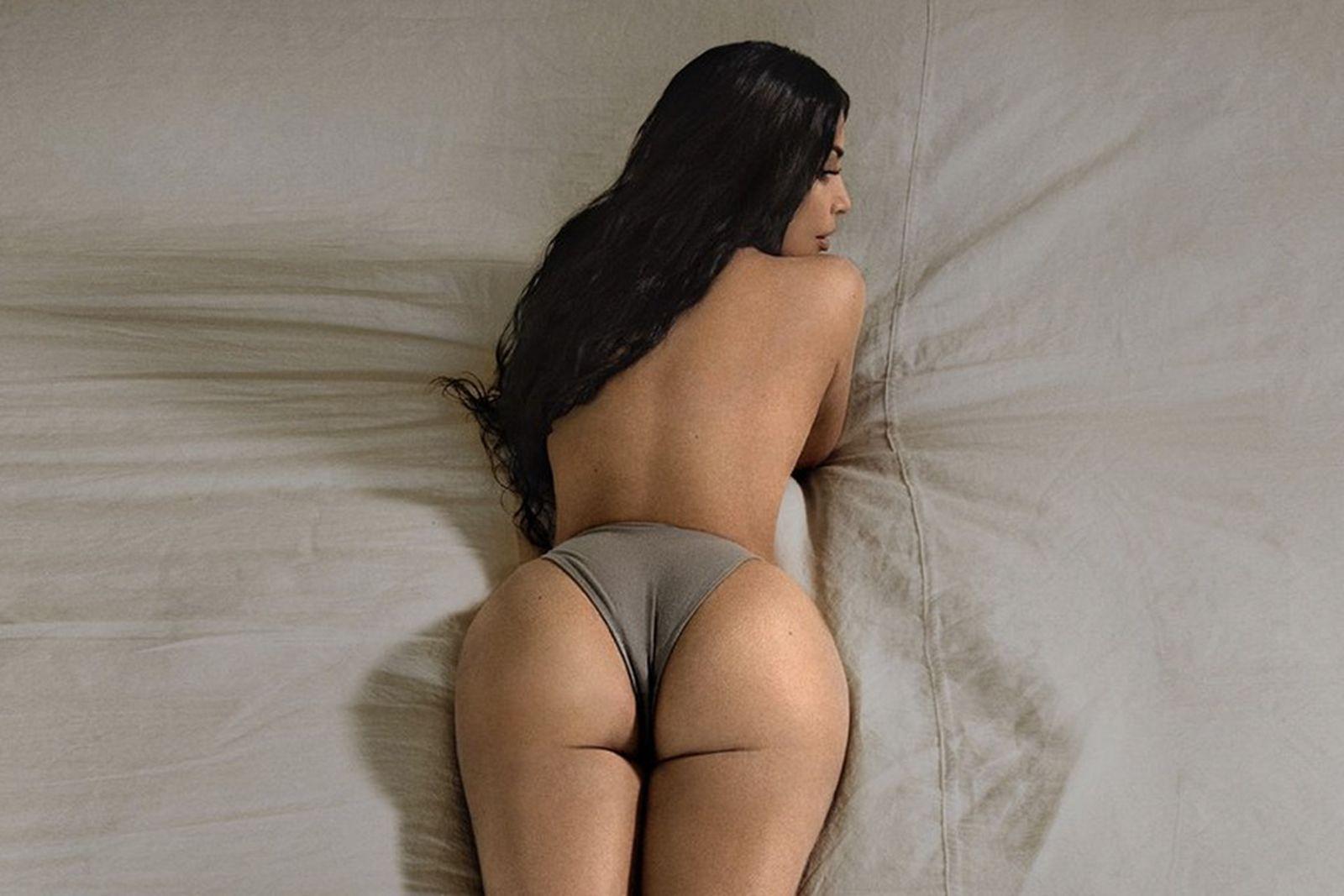 kim k yeezy campaign Kim Kardashian West brad hall
