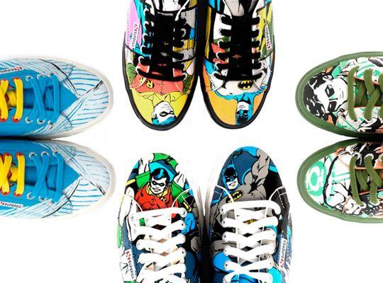 size 40 7f0d3 df111 Superga x DC Comics Sneakers   Highsnobiety