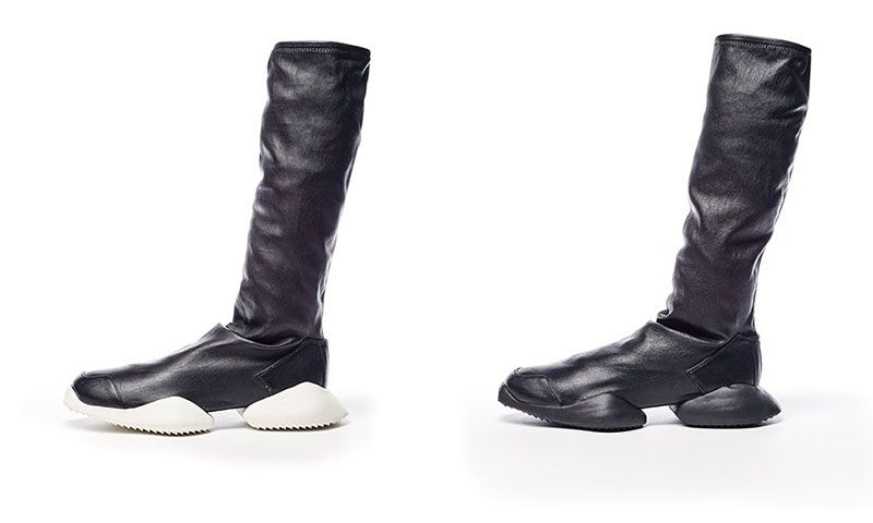 pretty nice 3a1e7 f9bd0 adidas x Rick Owens FW16 Is About as Wild as Shoes Get