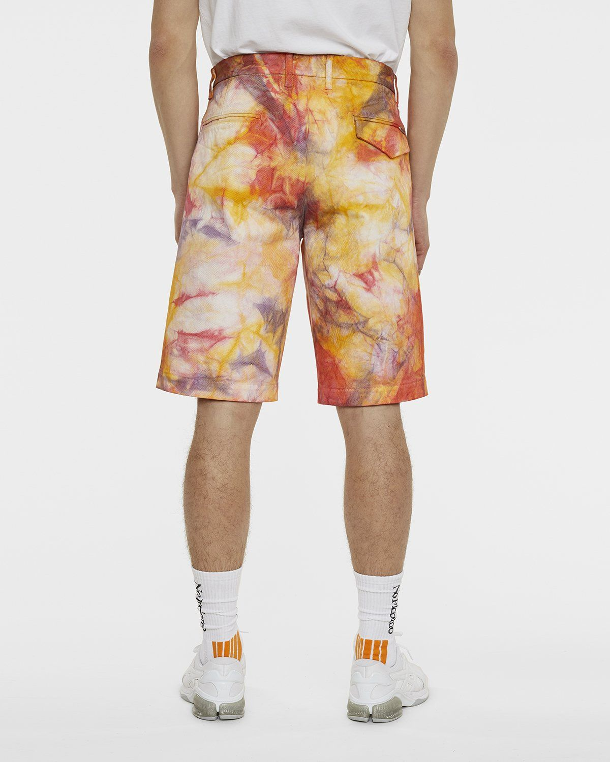 Aries - Tie Dye Chino Shorts Multicolor - Image 5