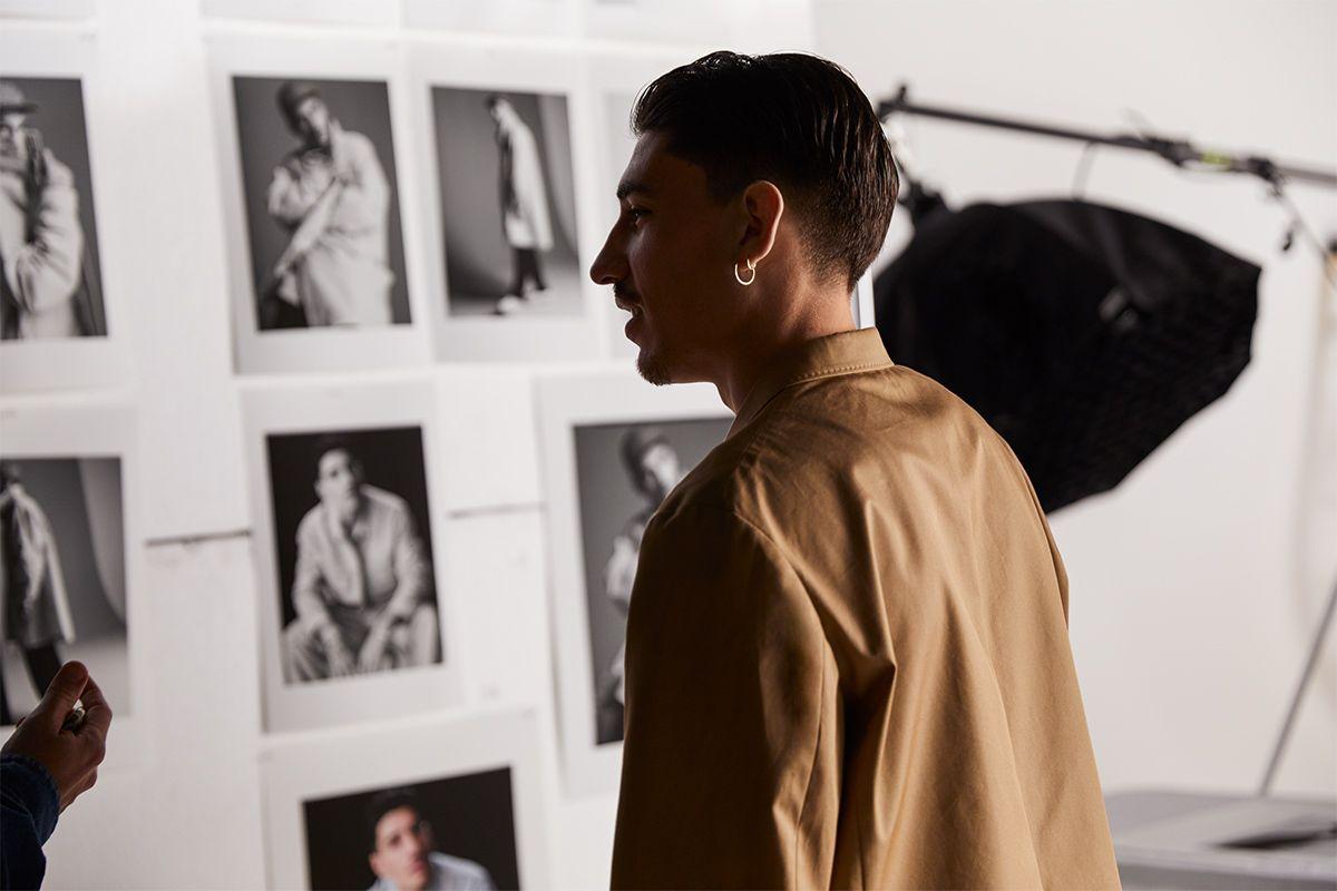 Fashion-Savvy Footballer Héctor Bellerín Drops Collection With H&M