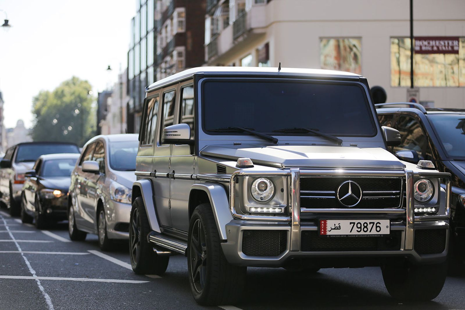 Mercedes-Benz Is Developing the First Electric G-Class