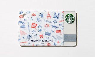 Maison Kitsune Designs a Special Starbucks Card for GQ Japan