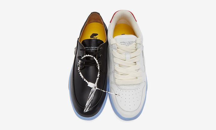 Off-White™ black and white half-half shoe