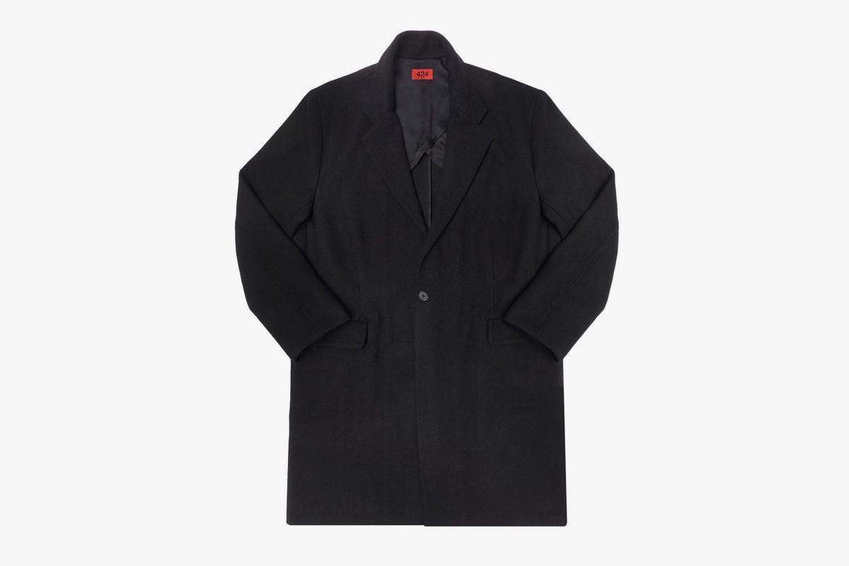 Single Poppy Overcoat