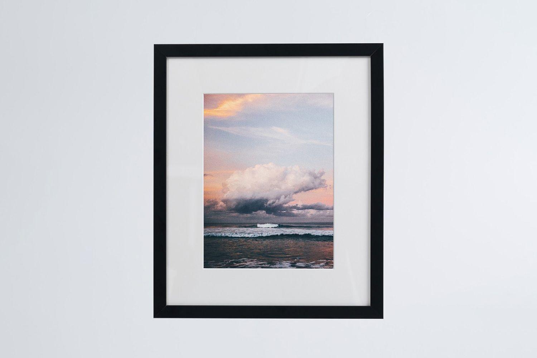 Beach Photo Print (framed)