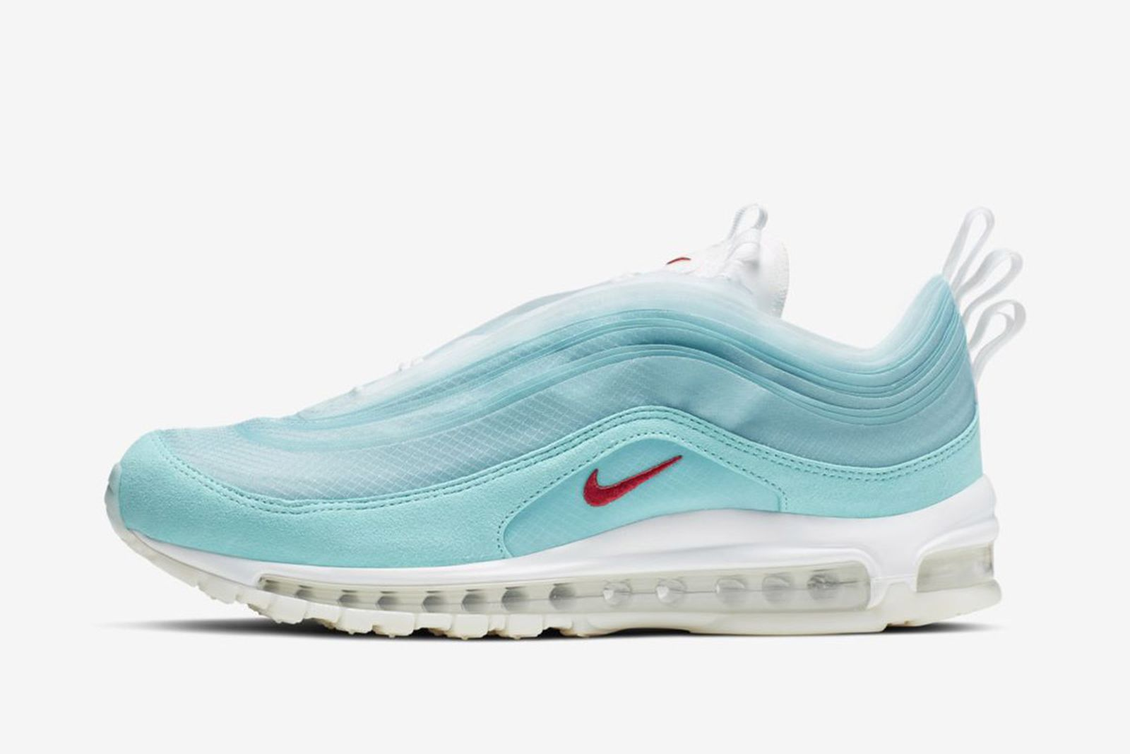 "Barrio Óptima prometedor  Nike Air Max 97 ""Shanghai Kaleidoscope"": Where to Buy This Week"
