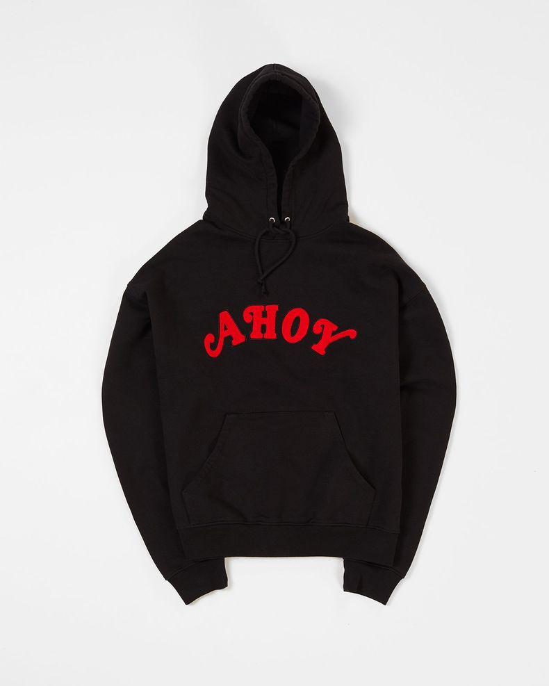 Highsnobiety x Stranger Things — Ahoy Hoodie Black