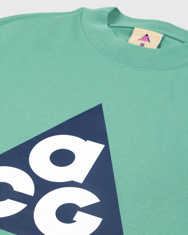 Nike ACG — M NRG ACG LS Big Tee Green - Image 3