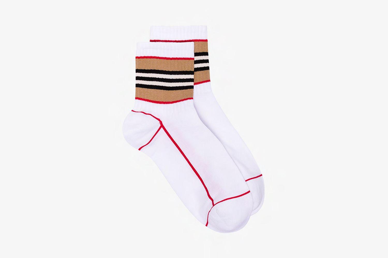 Icon Stripe Cotton Socks