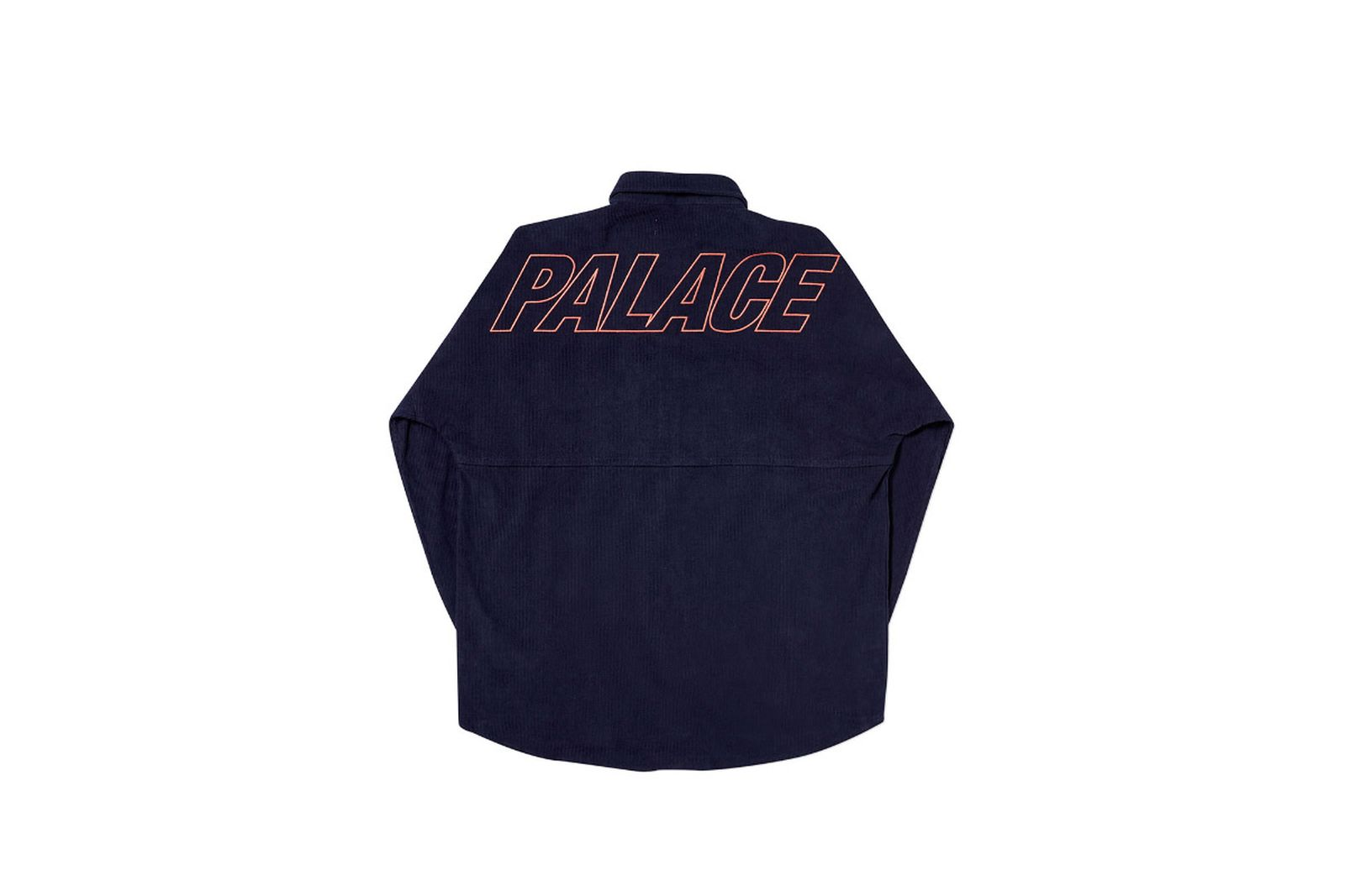Palace 2019 Autumn Shirt Drop Cord navy front fw19