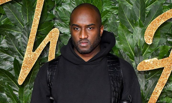 Virgil Abloh attends the Fashion Awards 2018