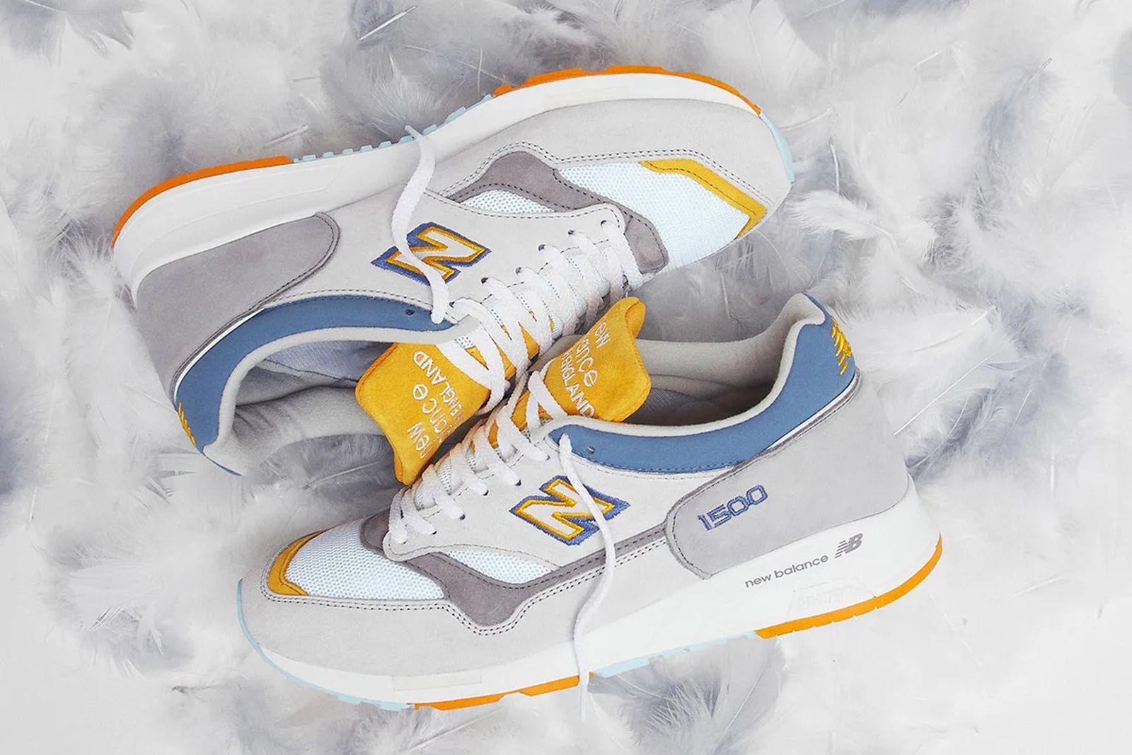 END. x New Balance 1500 grey heron colorway product shot