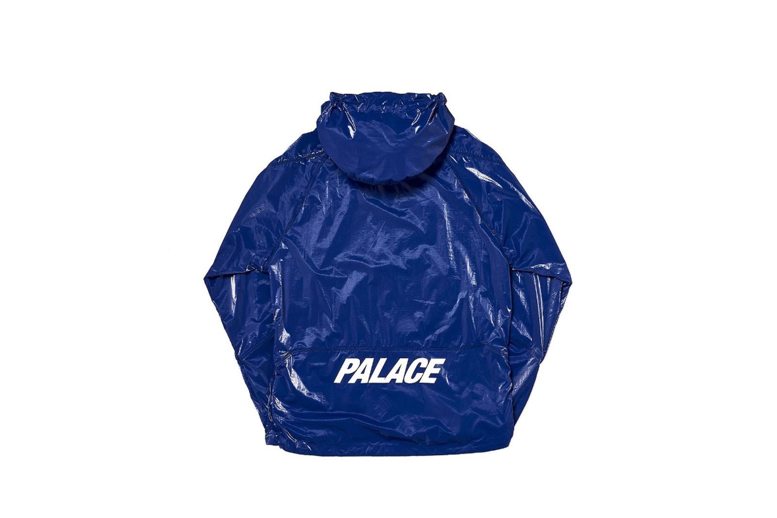 Palace 2019 Autumn Jacket G Loss Jacket blue back fw19