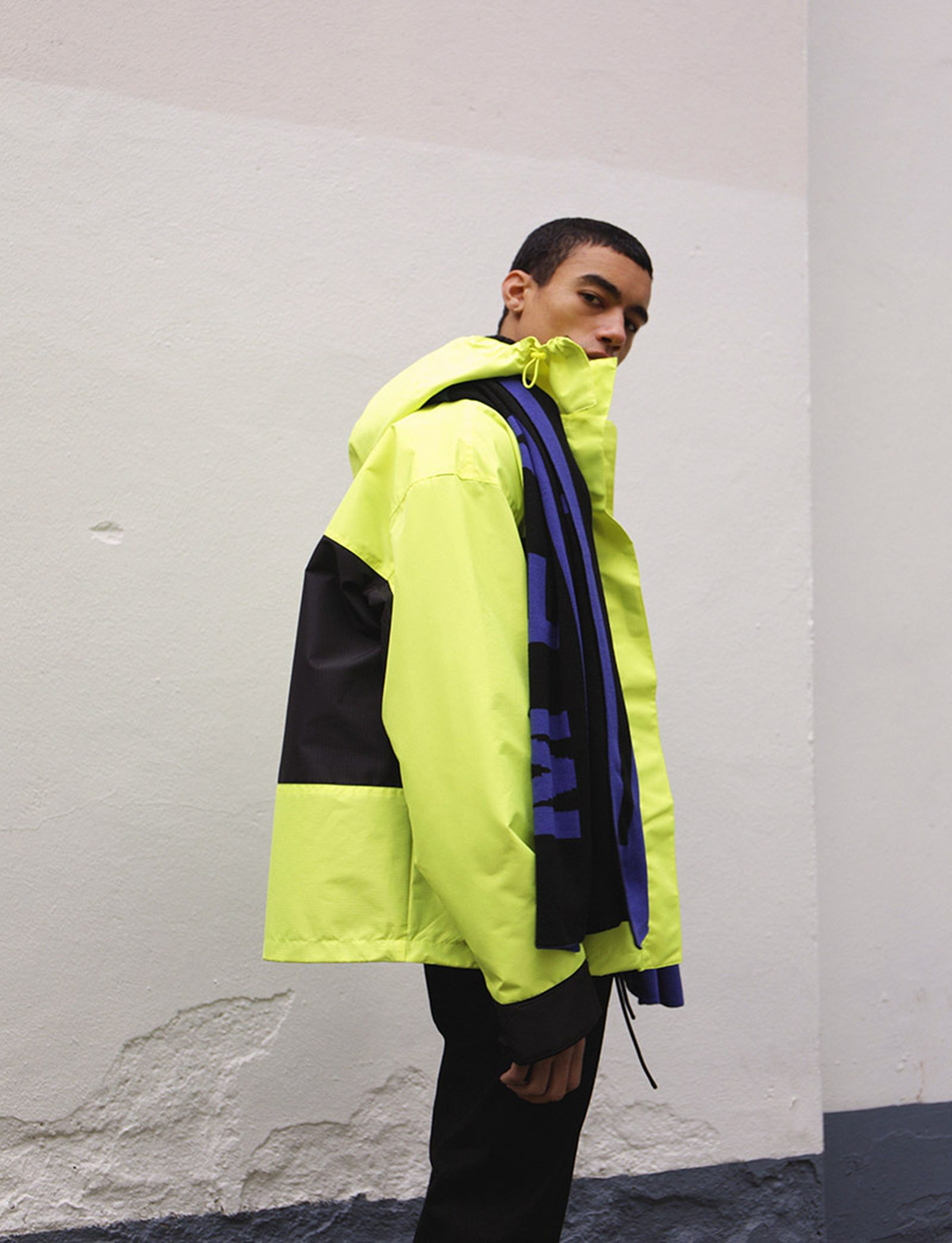 Flen Jacket, Cone Denim & Meridian Scarf