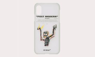 OFF-WHITE Pays Homage to Basquiat With New iPhone Cases