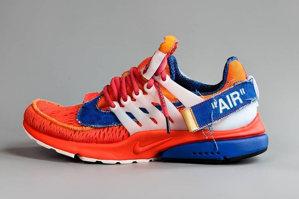 quality design 301bd 1778c This Goku-Inspired OFF-WHITE x Nike Air Presto Is Next-Level
