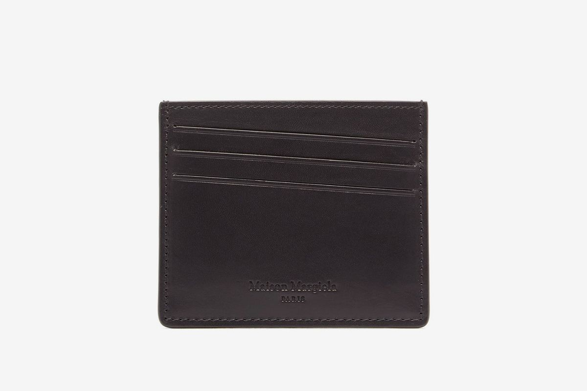Four Stitch Leather Cardholder