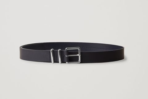 Rubberised Leather Belt
