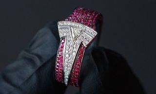 Ben Baller Gifts Elon Musk a Custom Iced-Out Tesla Ring
