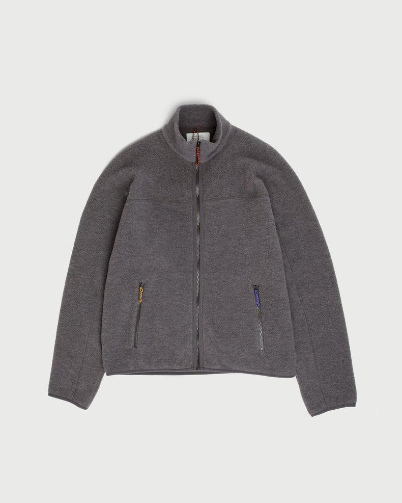 Peak Performance x Ben Gorham —  Wool Fleece Jacket Grey
