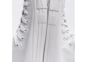 38e733814b5e Undefeated x fragment design x Converse Chuck Taylor All Star Hi  All White   – Another Look