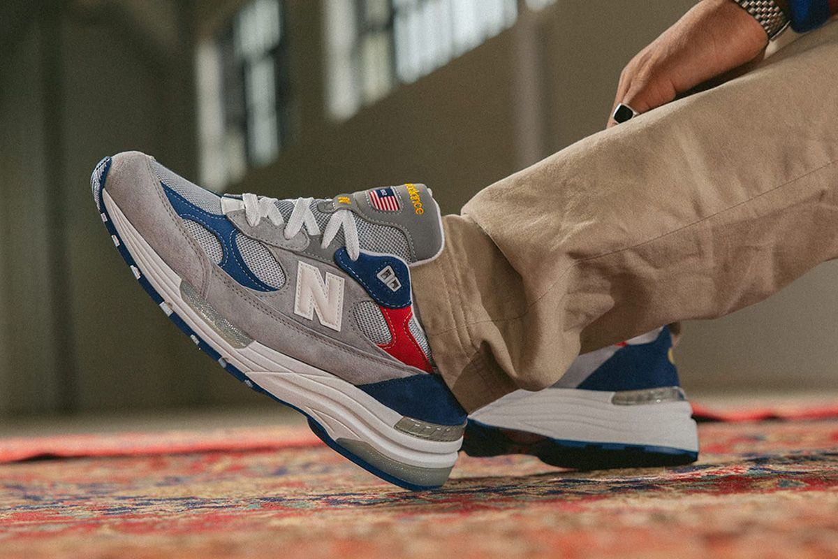 """The DTLR x New Balance 992 """"Varsity"""" is All American"""