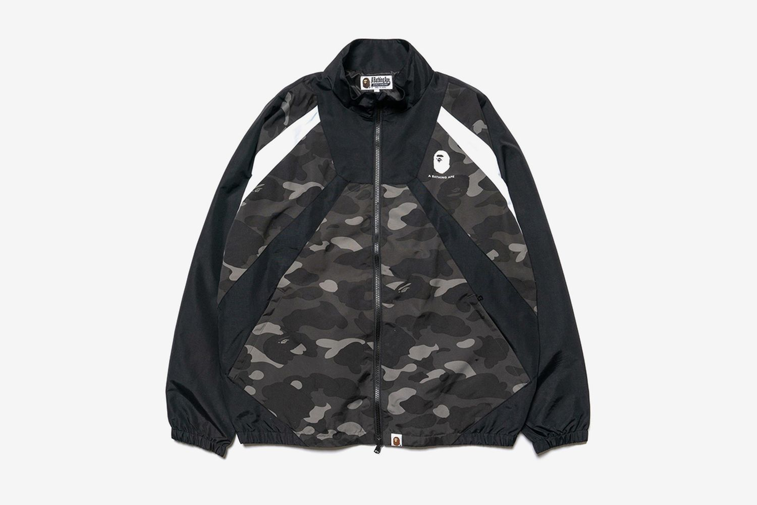 Color Camo Color Block Jacket