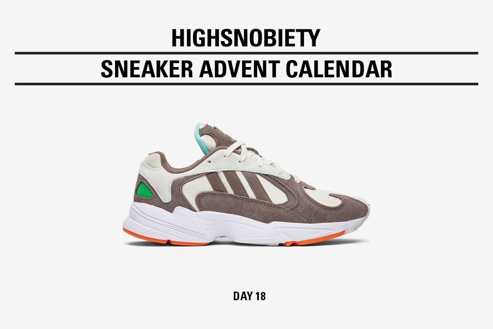 highsnobiety advent calendar day 18 adidas Originals adidas Yung 1 solebox