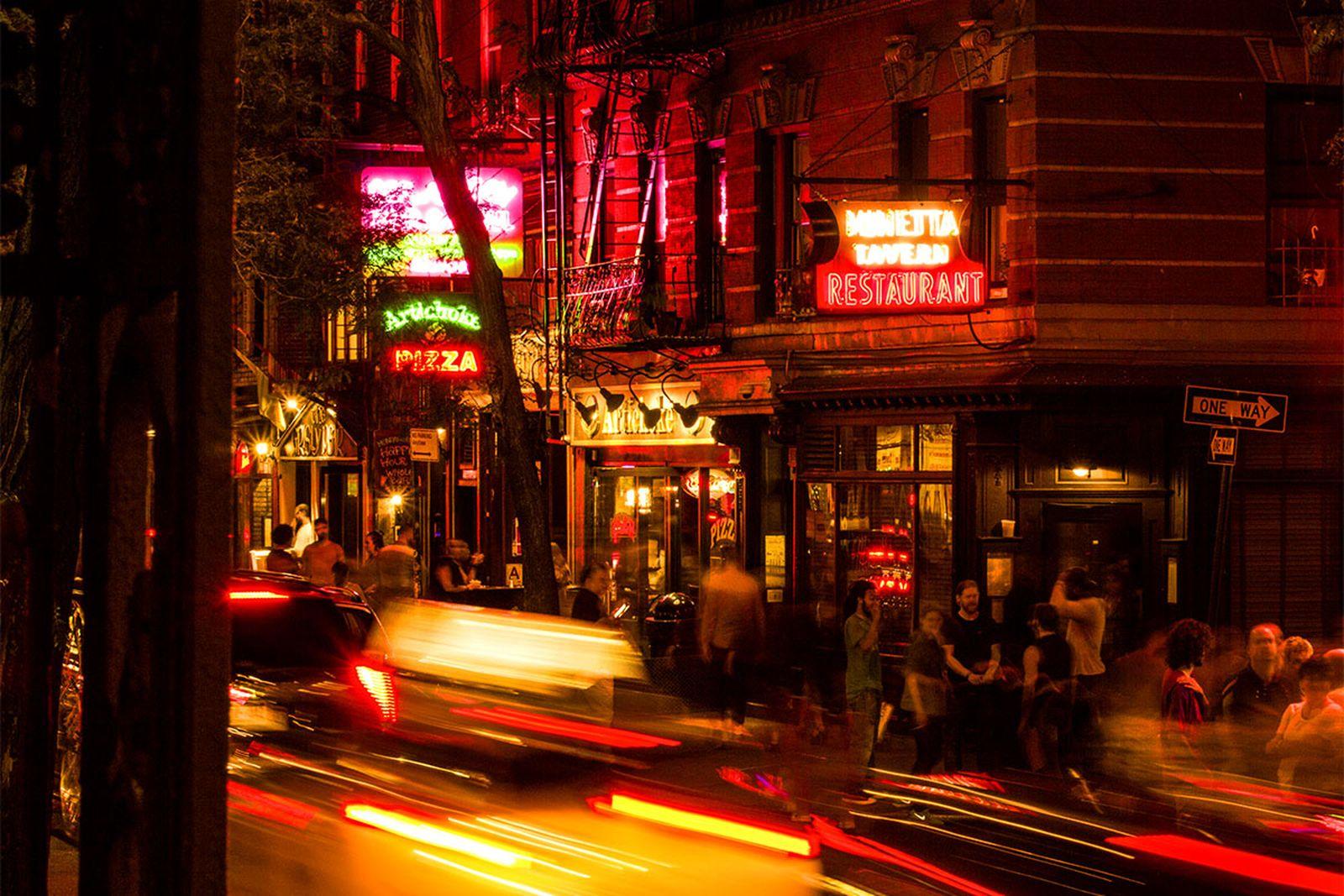 best bars new york minetta tavern AMEX american express platinum food & drink