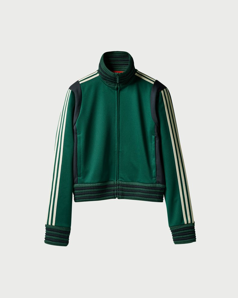 Adidas x Wales Bonner — Lovers Track Top Green