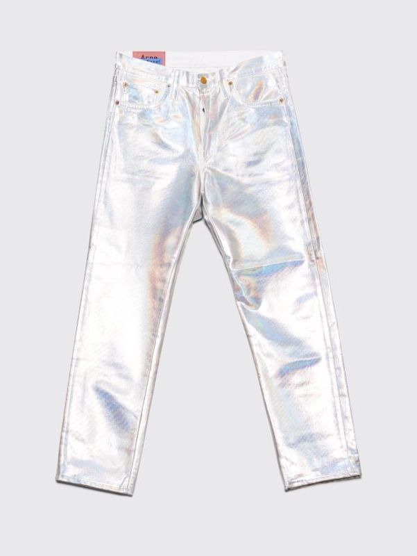 Acne Studios' Holographic Jeans Are Absolute Showstoppers