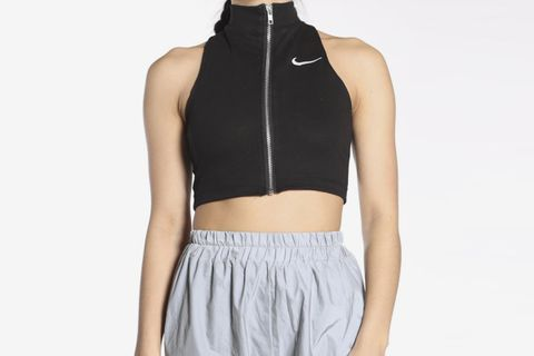 Reworked Nike Cropped Tank Top