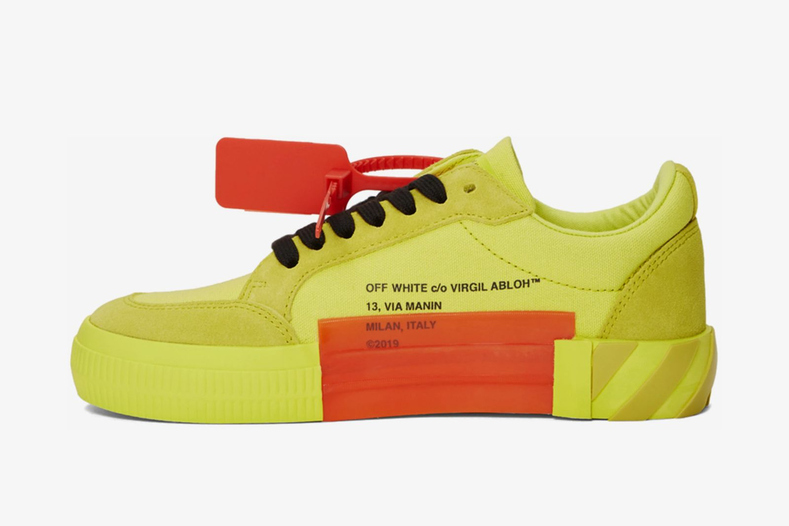 off white low vulcanized sneaker release date price OFF-WHITE c/o Virgil Abloh