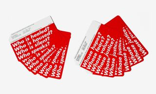 New York City Is Getting Two Limited Edition Barbara Kruger-Designed MetroCards