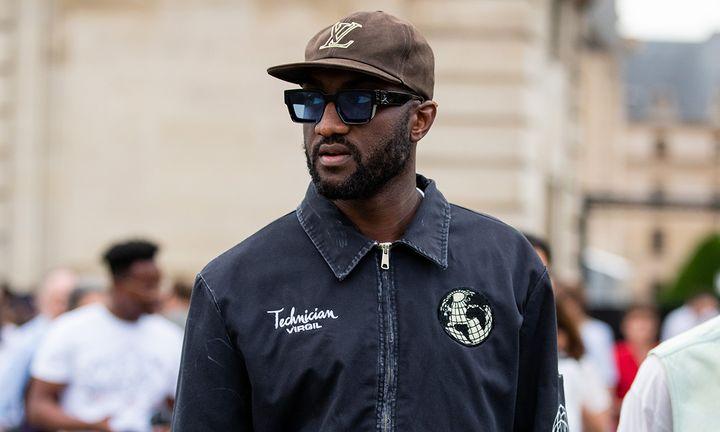Virgil Abloh Louis Vuitton hat sunglasses