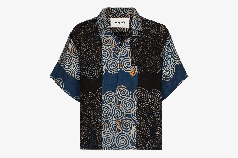 Greetings Bark Twin Spiral Shirt