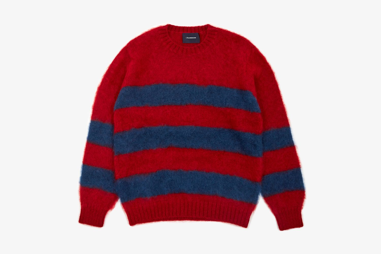 JohnUNDERCOVER Striped Knit Jumper