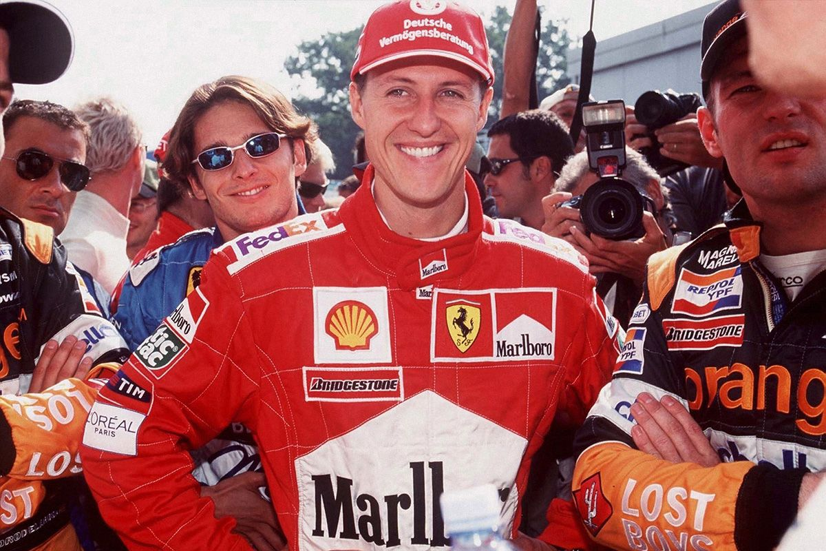 Ahead of His Biopic, Remembering Michael Schumacher's Best Style Moments