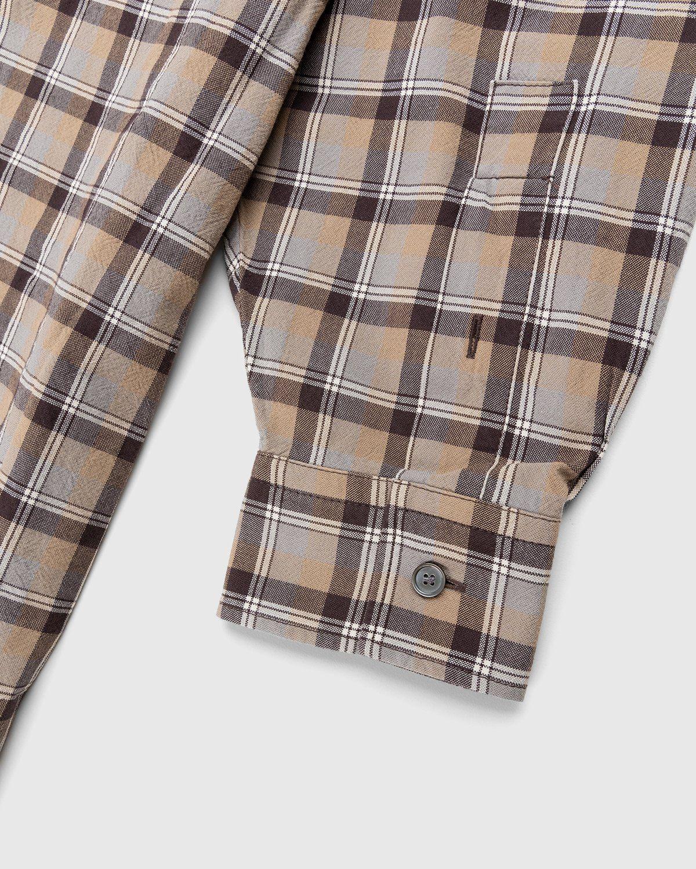 Acne Studios – Checked Shirt Brown - Image 8