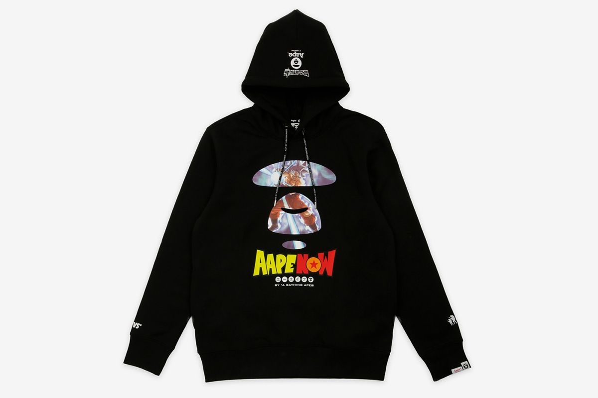 AAPE by A Bathing Ape Dragon Ball Super Broly hoodie black