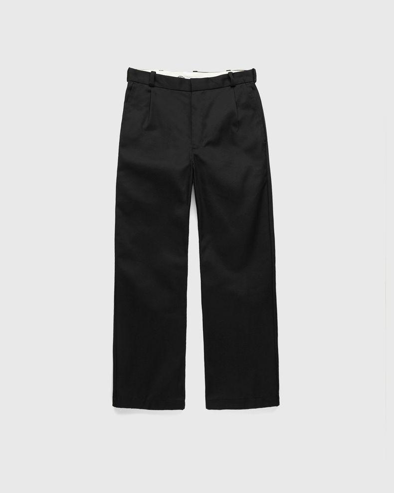 Highsnobiety x Dickies – Pleated Work Pants Black