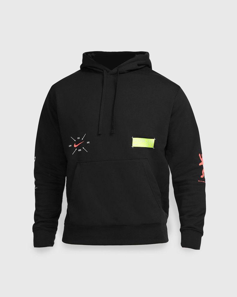 Nike x Highsnobiety – Berlin Club Fleece Hoodie Black