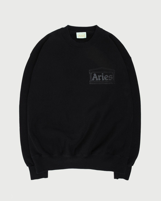 Aries - Premium Temple Sweatshirt Black - Image 1