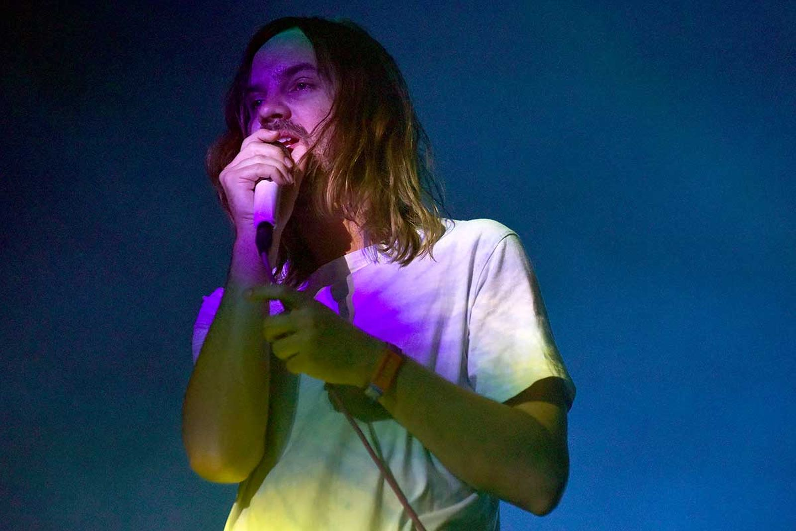 Kevin Parker of Tame Impala performs during the ACL Music Festival 2019