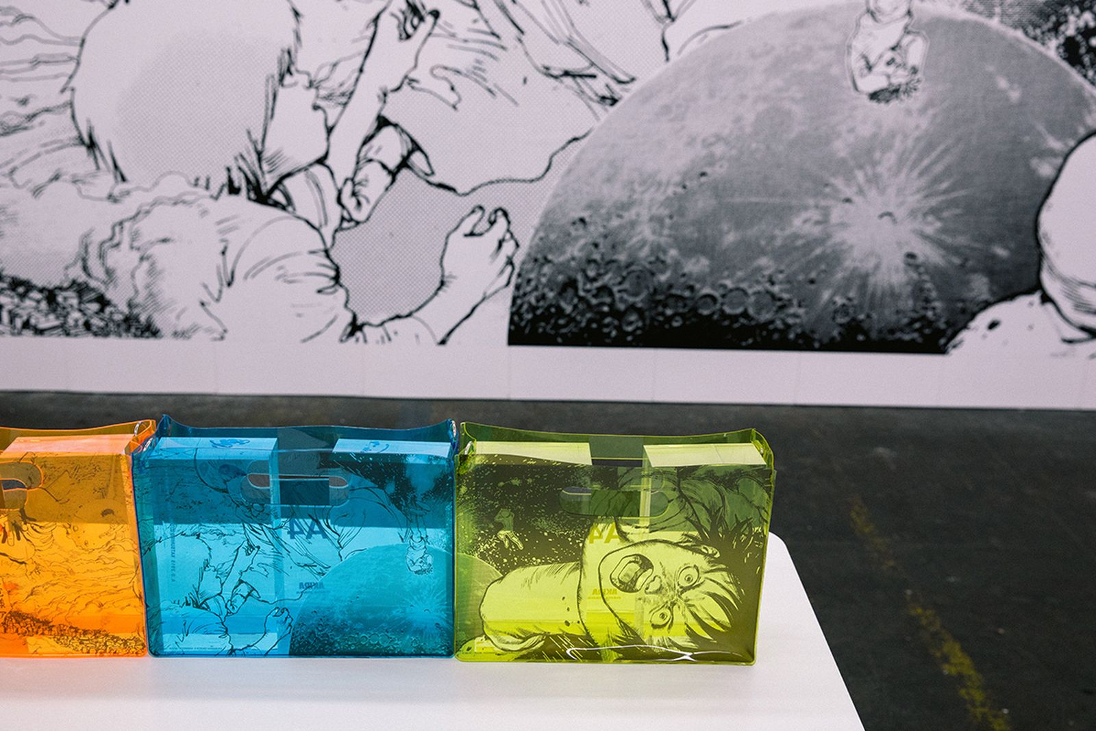 nana nana akira art wall kosuke kawamura exhibition nana-nana