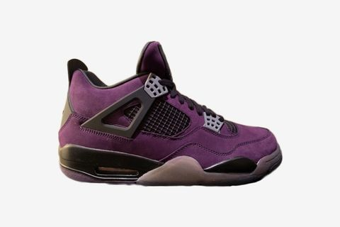 Air Jordan 4 Retro Travis Scott Purple (Friends and Family)
