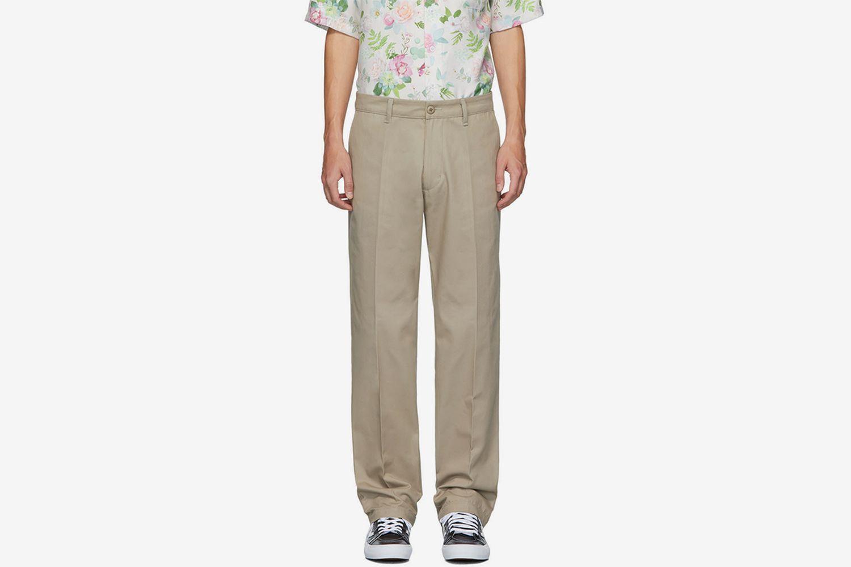 Khaki Club Trousers